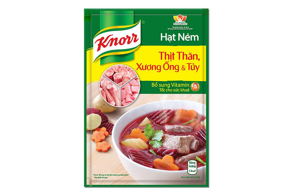 Hạt nêm Knorr thịt thăn, xương ống và tủy gói 400g