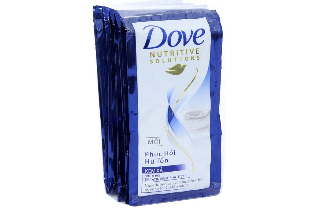 Kem xả Dove phụ hồi hư tổn gói 6g