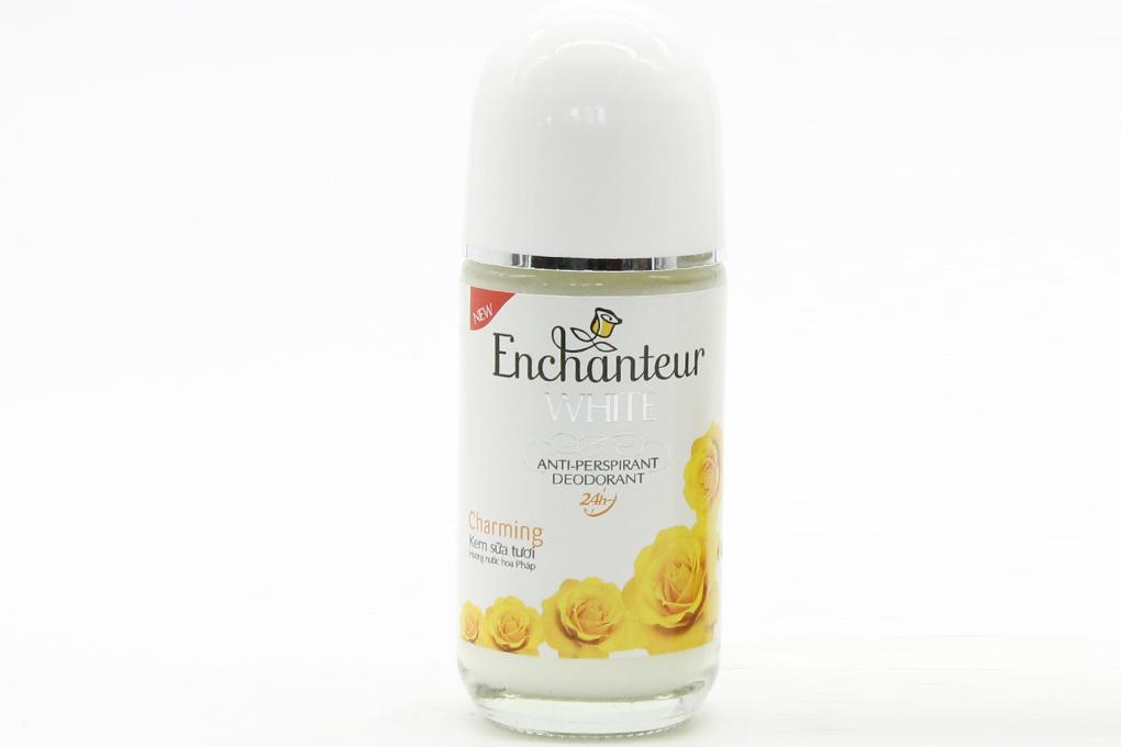 Lăn khử mùi Enchanteur White Charming lọ 50ml