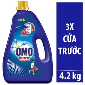 Nước giặt Omo Matic Comfort chai 4.2kg (máy giặt cửa trước)
