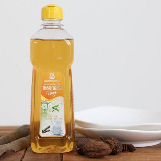 Nước rửa chén Bách Thảo Vàng chai 500g