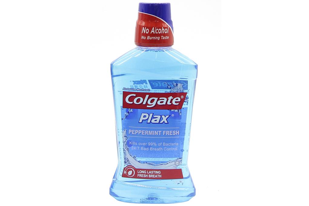 Nước súc miệng Colgate Plax Peppermint Fresh 250ml
