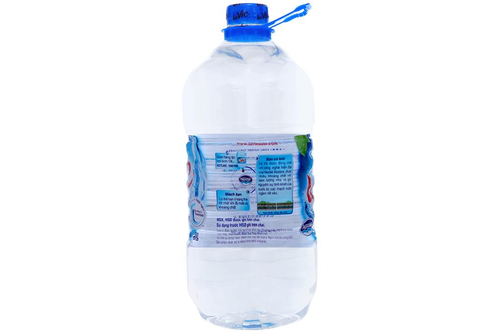 Nước khoáng Lavie chai 5 lít