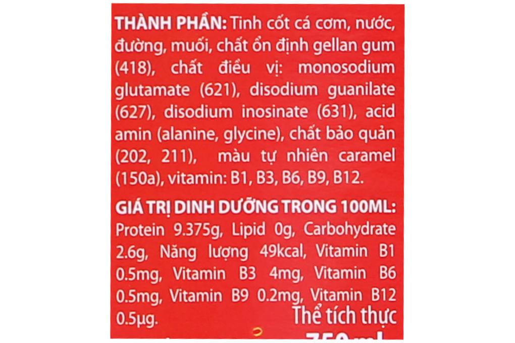 Nước mắm Thái Long vi chất chai 750ml