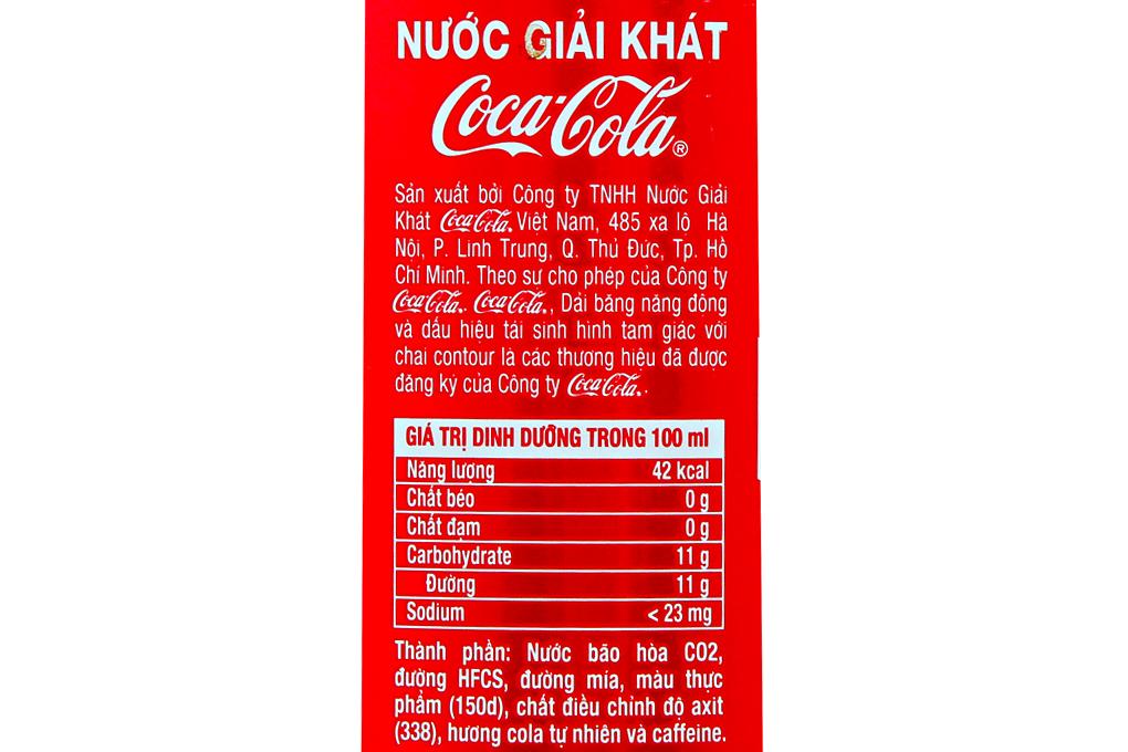 Nước giải khát Coca-Cola chai 1,5 lít