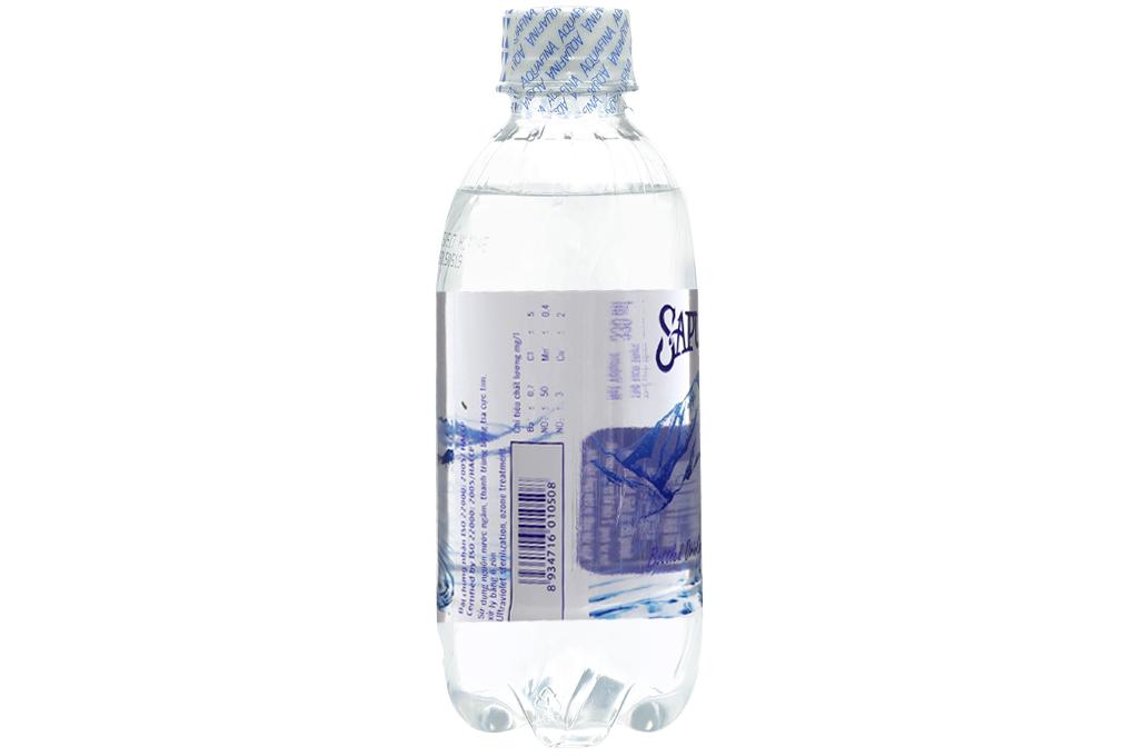 Nước tinh khiết Sapuwa chai 330ml