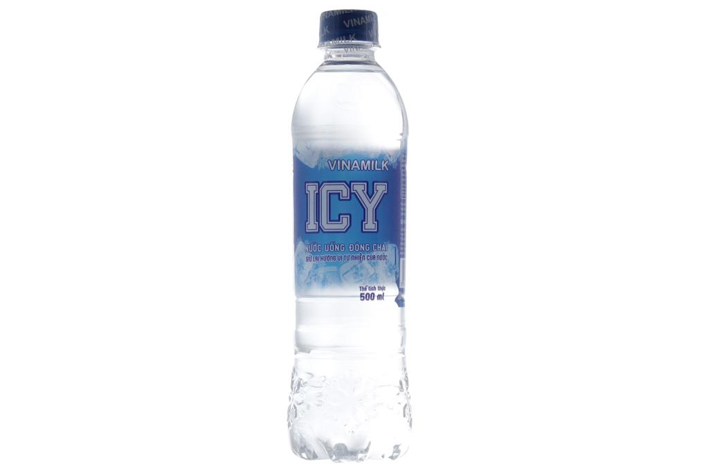 Nước uống đóng chai Icy chai 500ml