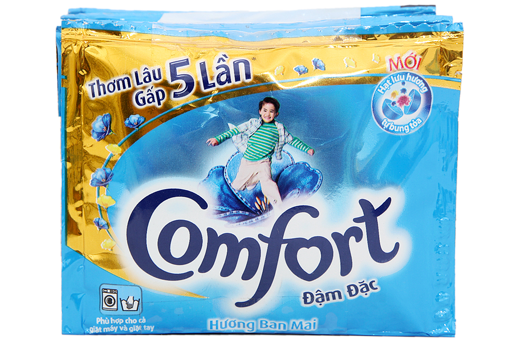 Nước xả Comfort đậm đặc hương ban mai gói 21ml