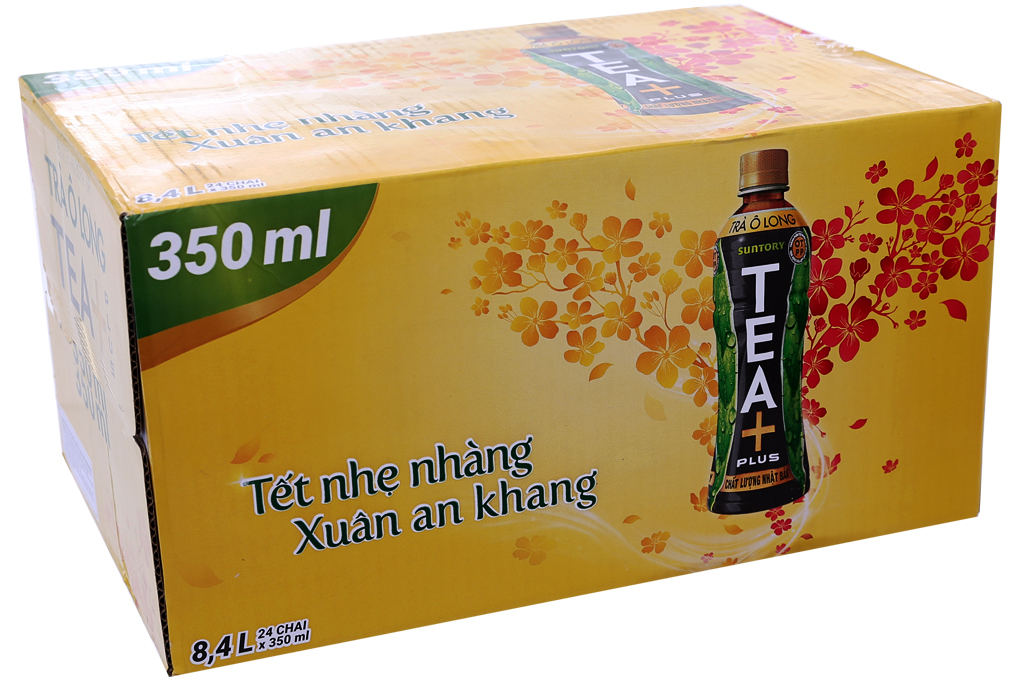 Trà Ô Long Tea+ plus chai 350ml