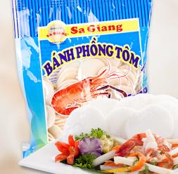 Bánh phồng tôm Sa Giang gói 100g