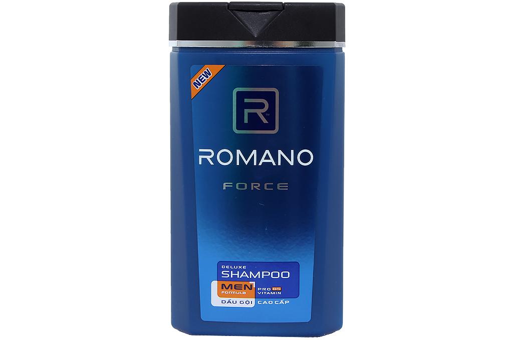 Dầu gội cao cấp Romano Men Force chai 180g
