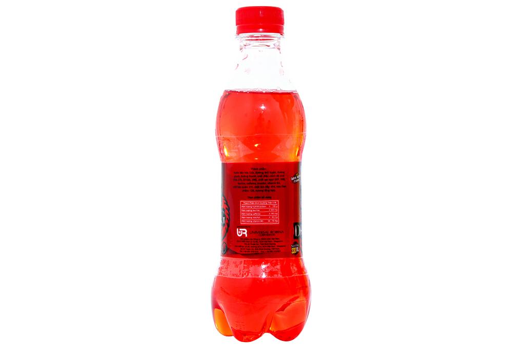 Nước tăng lực Rồng Đỏ hương dâu chai 330ml