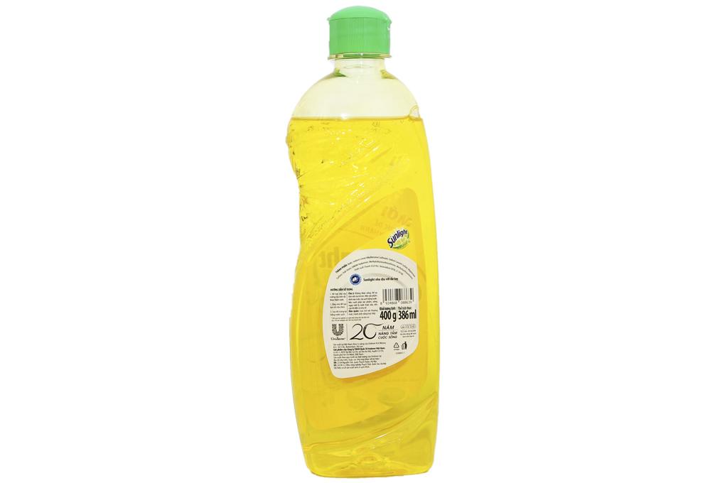Nước rửa chén bát Sunlight Chanh100 chai 400g