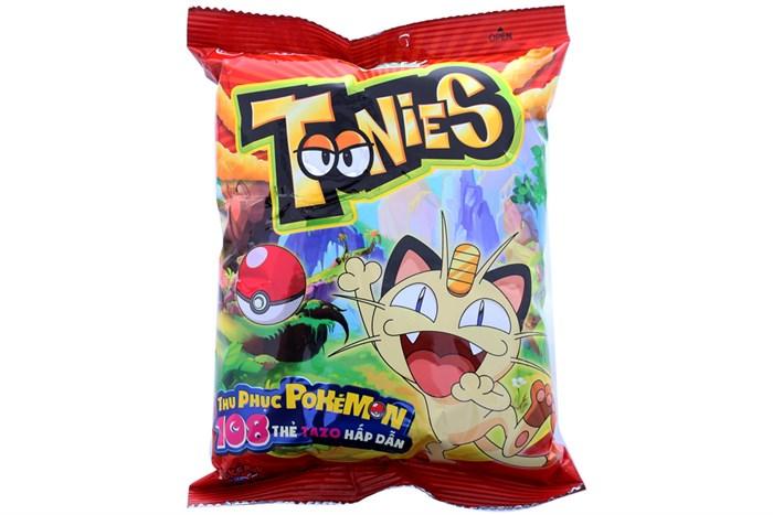 Bánh snack ORION Toonies vị cay gói 34g
