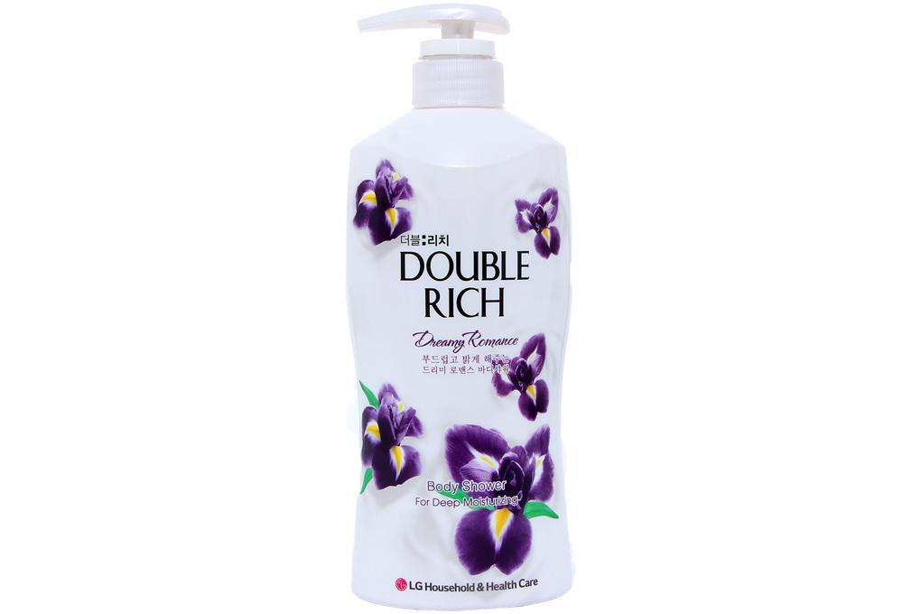 Sữa tắm Double Rich hương hoa Iris chai 550g