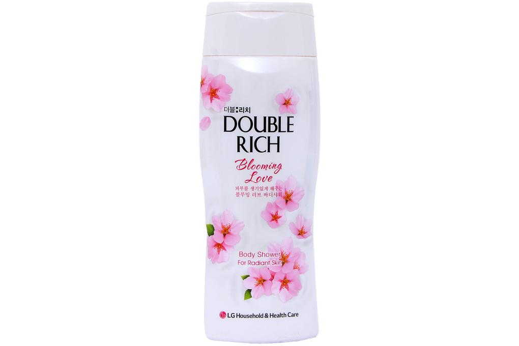 Sữa tắm Double Rich hương hoa Anh Đào chai 200g