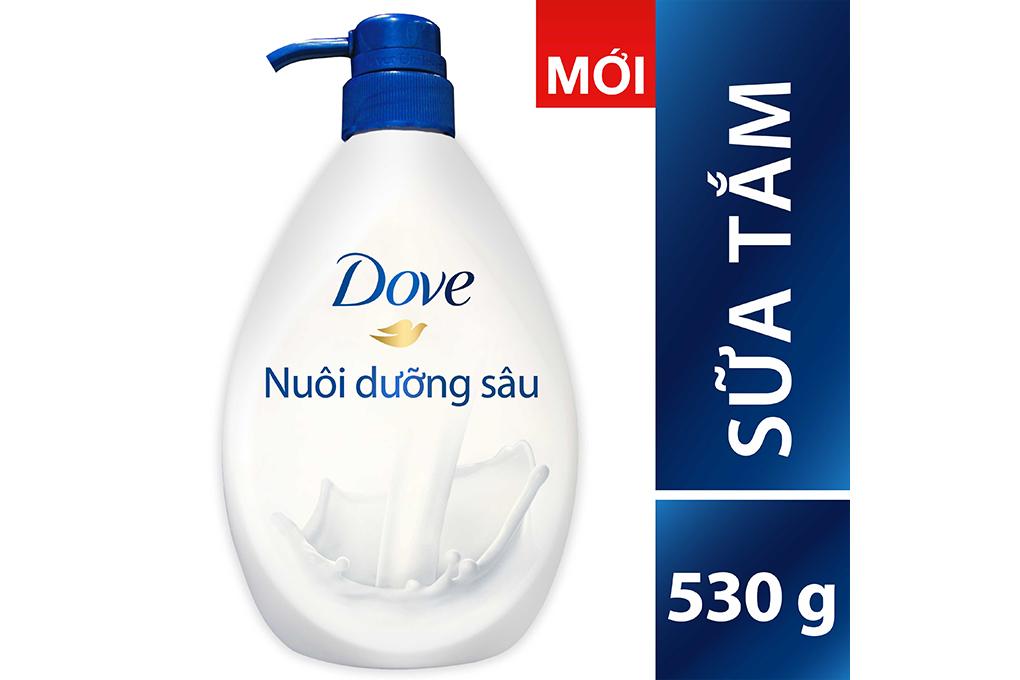 Sữa tắm Dove nuôi dưỡng sâu chai 530g