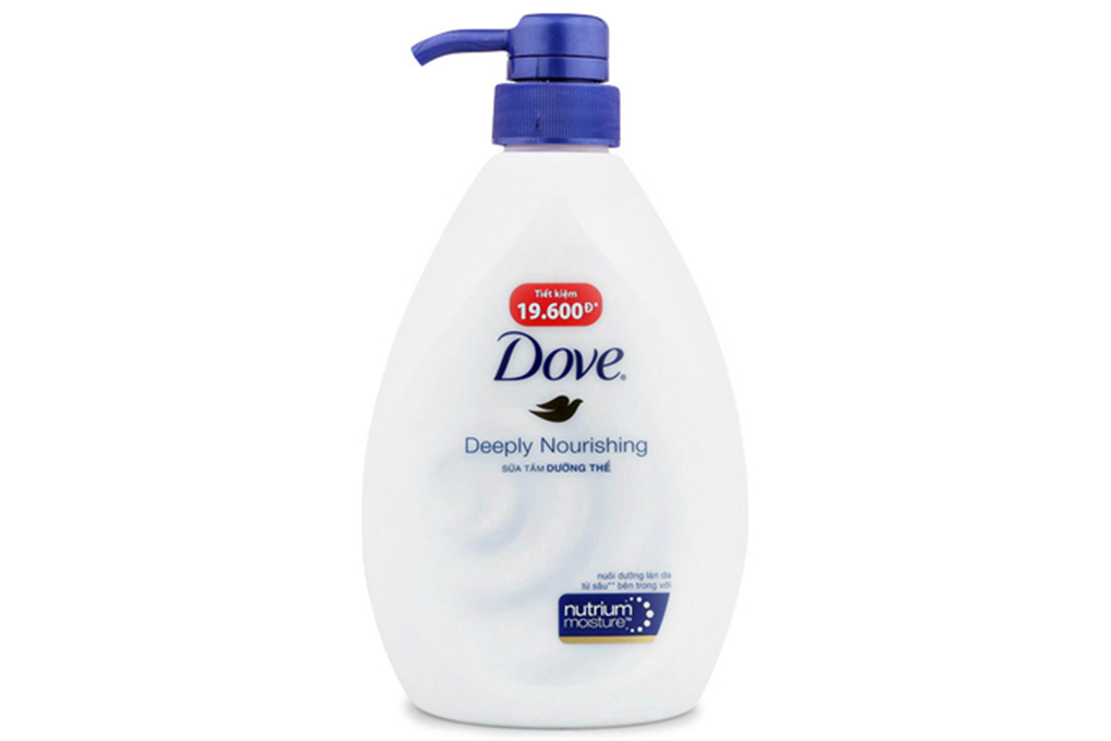 Sữa tắm Dove nuôi dưỡng sâu hộp 530g
