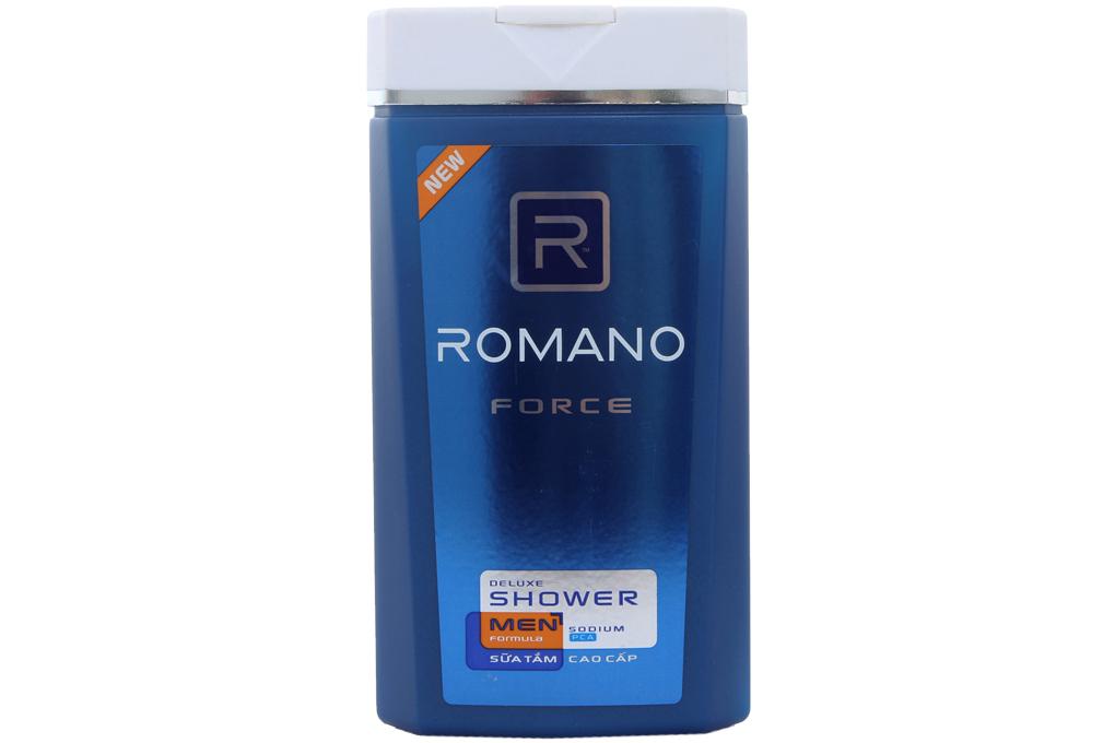 Sữa tắm Romano Force chai 180g