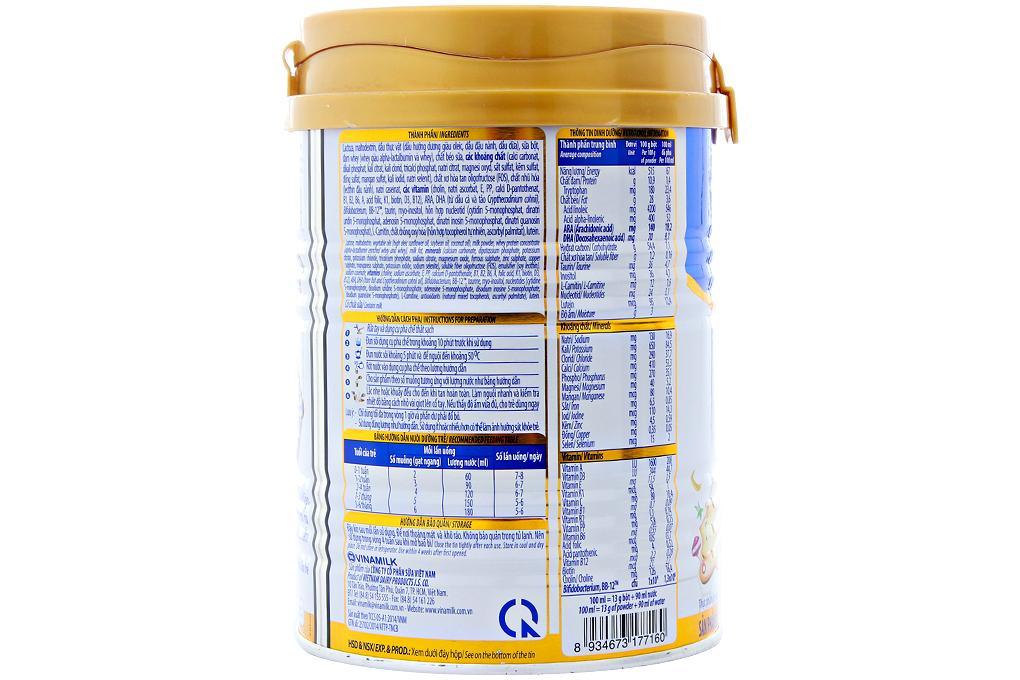 Sữa bột Optimum Gold 1 lon 400g (cho bé 0-6 tháng)