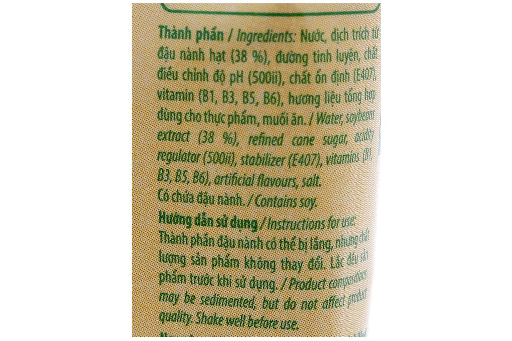 Sữa đậu nành Nutifood nguyên chất bịch 200ml
