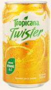 Nước cam ép Tropicana Twister lon 320ml