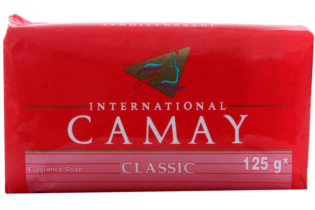 Xà bông cục CAMAY Classic gói 125g