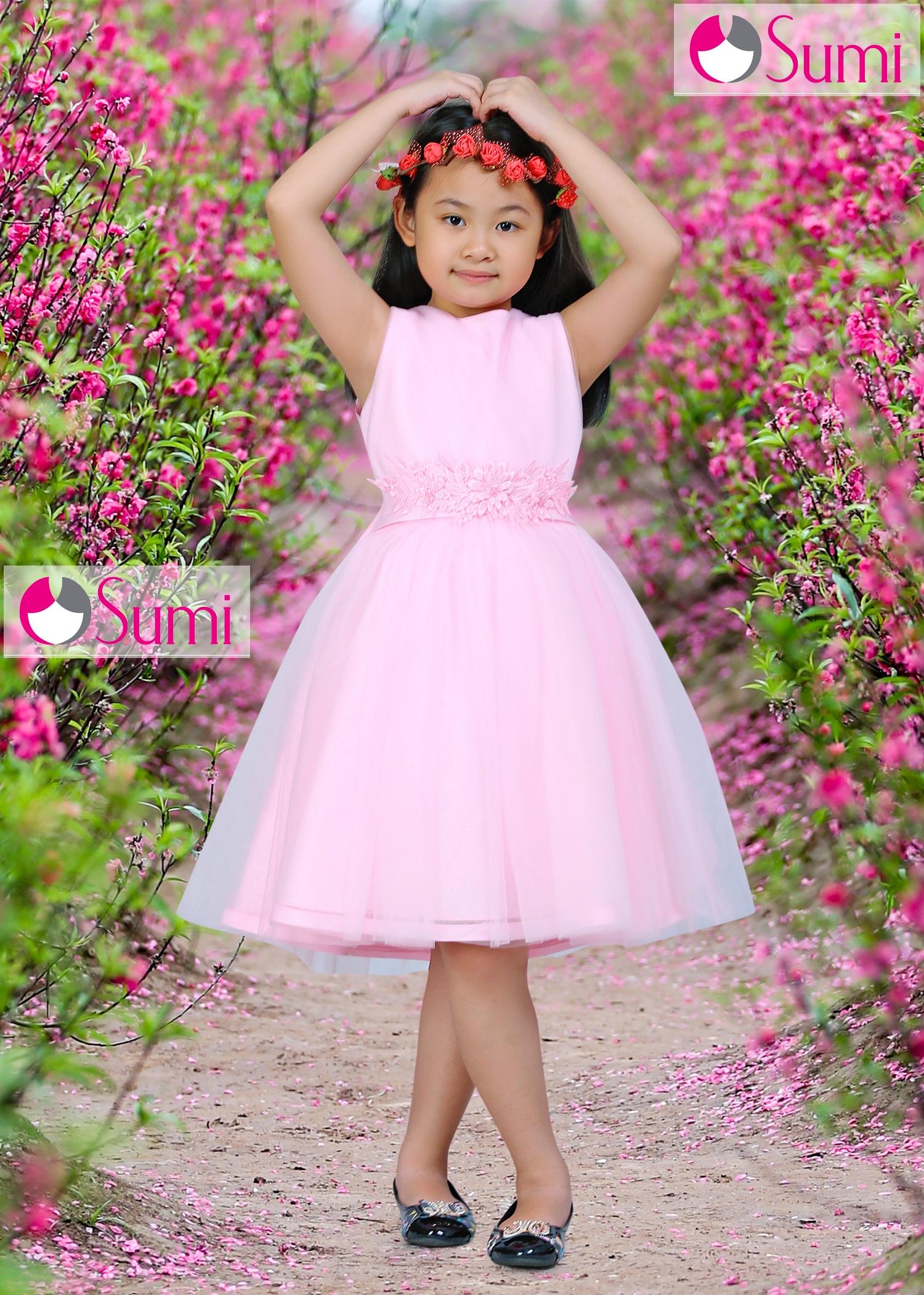 Đầm công chúa Ruby cho bé gái