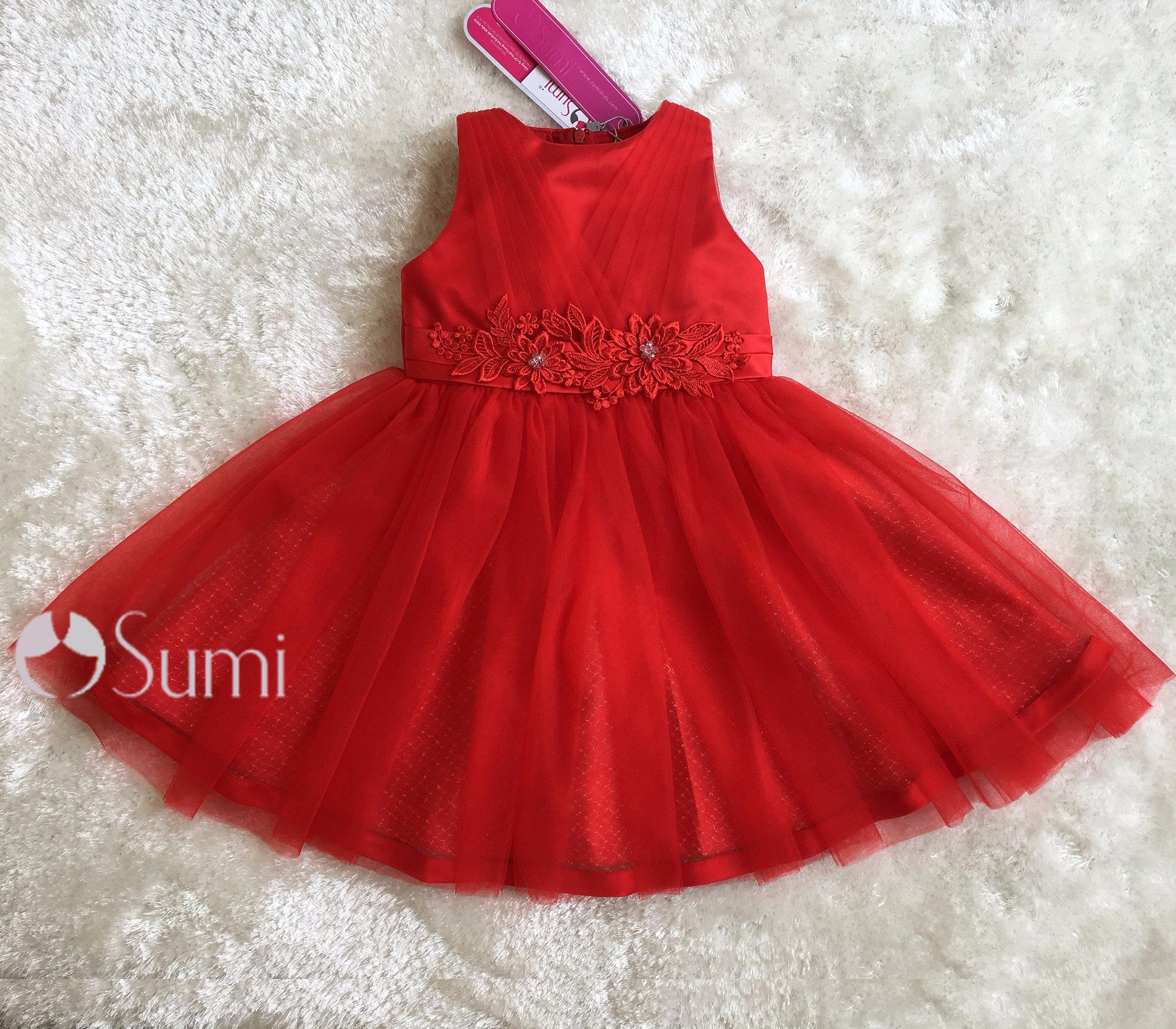 Đầm công chúa Ruby rực rỡ