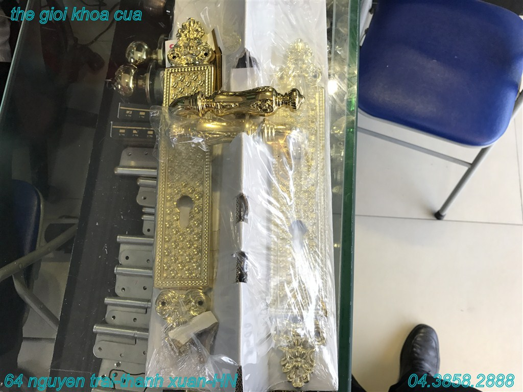 khóa cửa cao cấp linecali - italy - dòng Solied 2