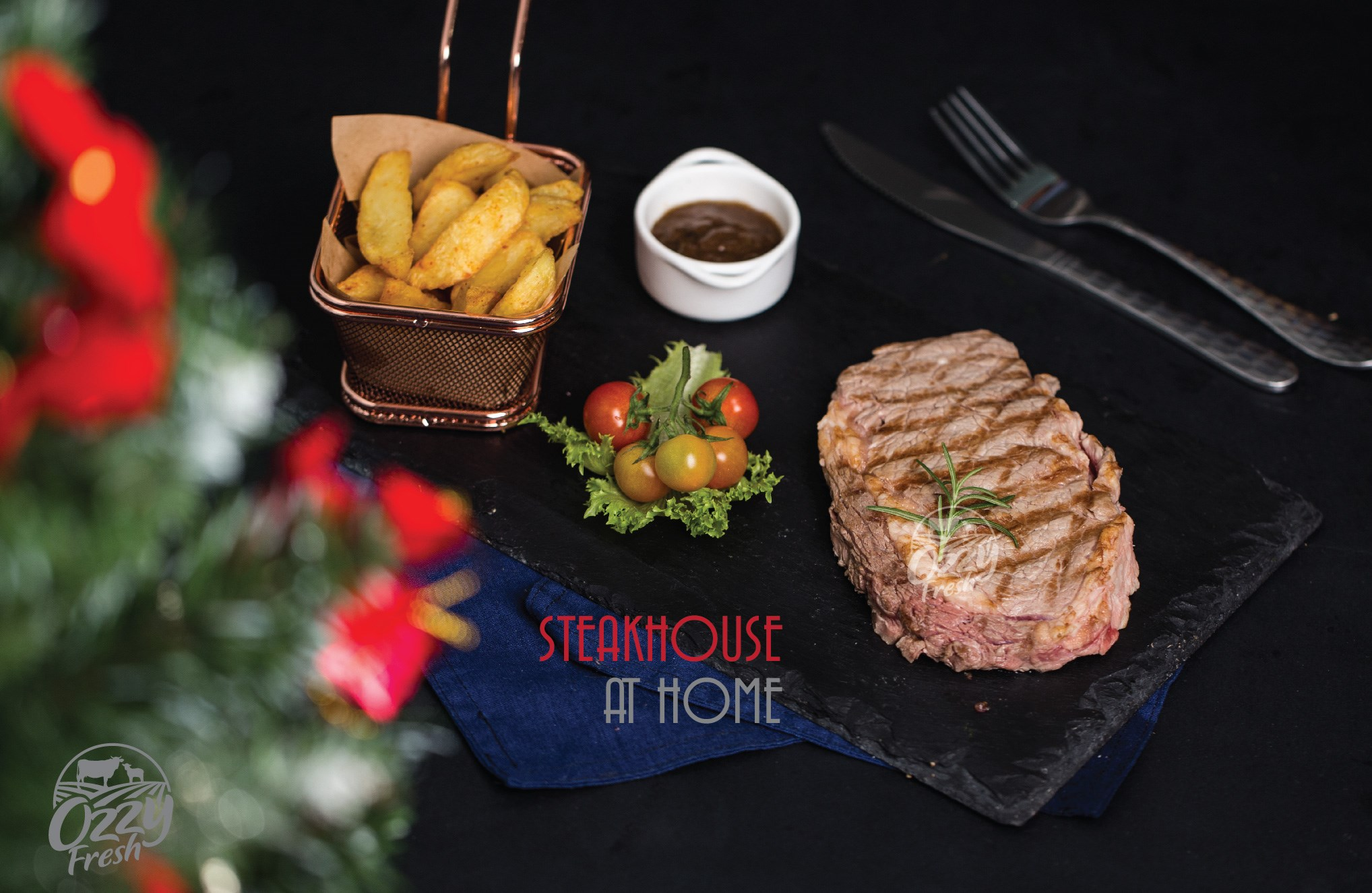 X'MAS STEAK BOX IS COMING TO OZZY FRESH