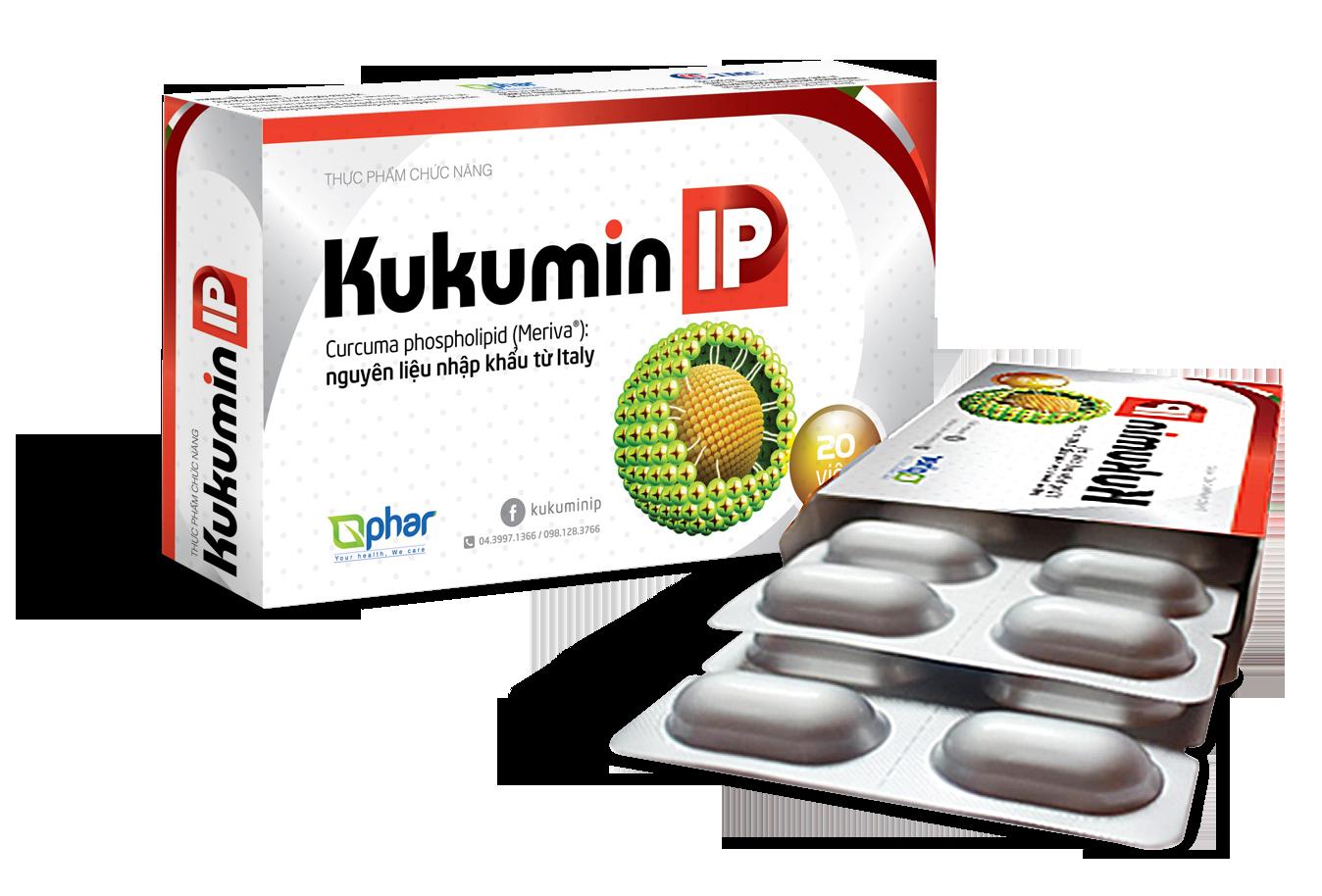 KUKUMIN IP cho người viêm loét dạ dày, trào ngược thực quản
