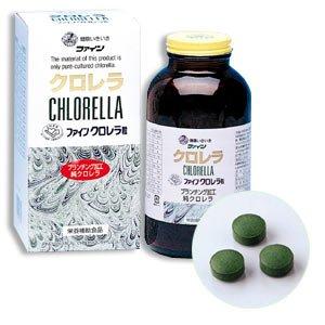 Tảo lục Chlorella Fine Japan nhập khẩu trực tiếp từ Nhật Bản, lọ 1800 viên