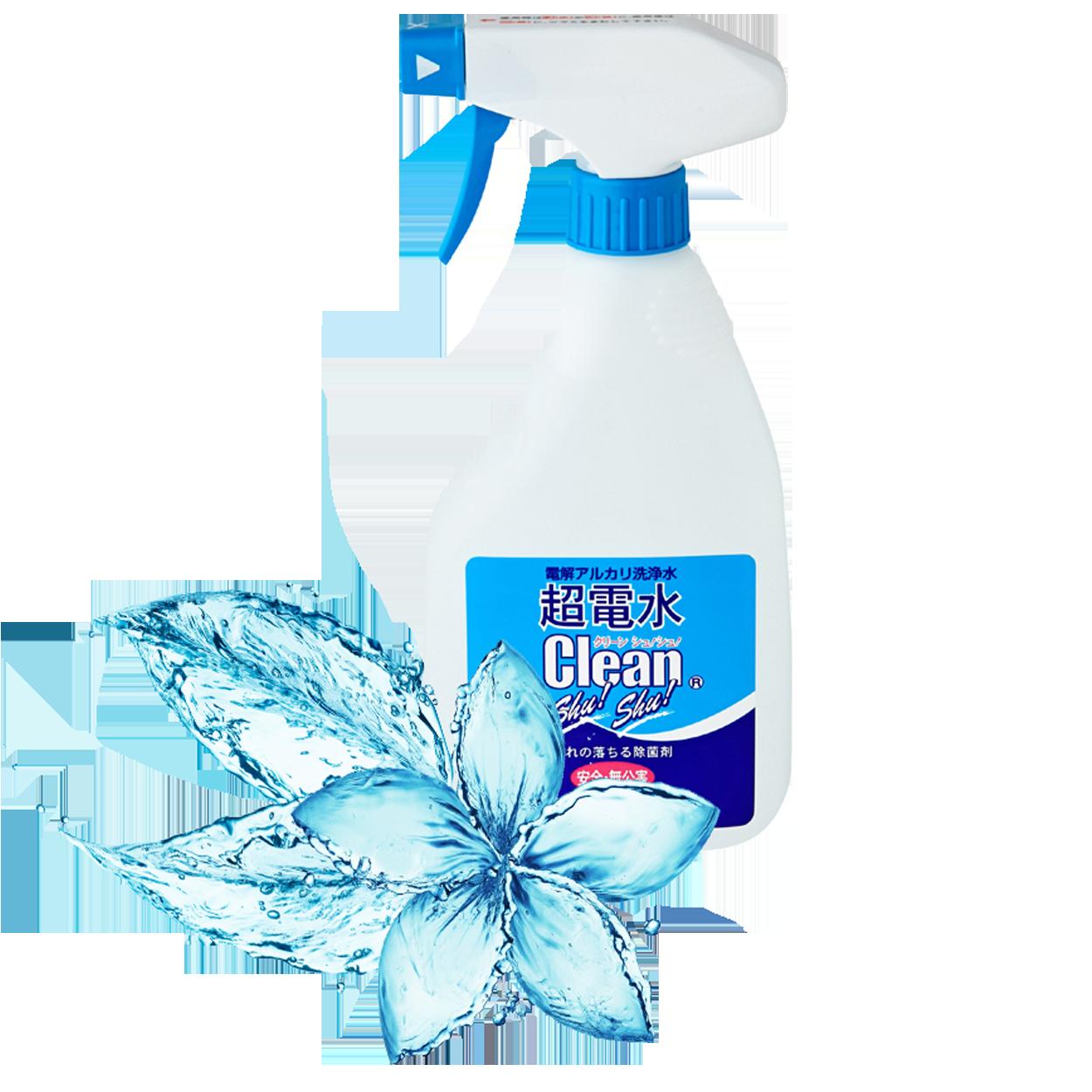Nước tinh khiết diệt khuẩn Clean Shu Shu_chai 500ml