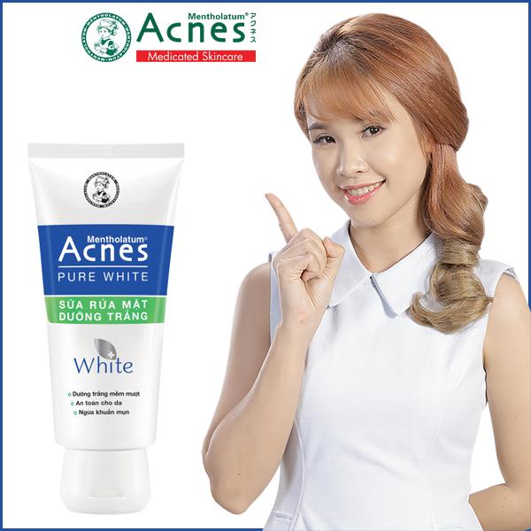 Acnes Pure White – Sữa rửa mặt dưỡng trắng – BEAUTY PHARMACY