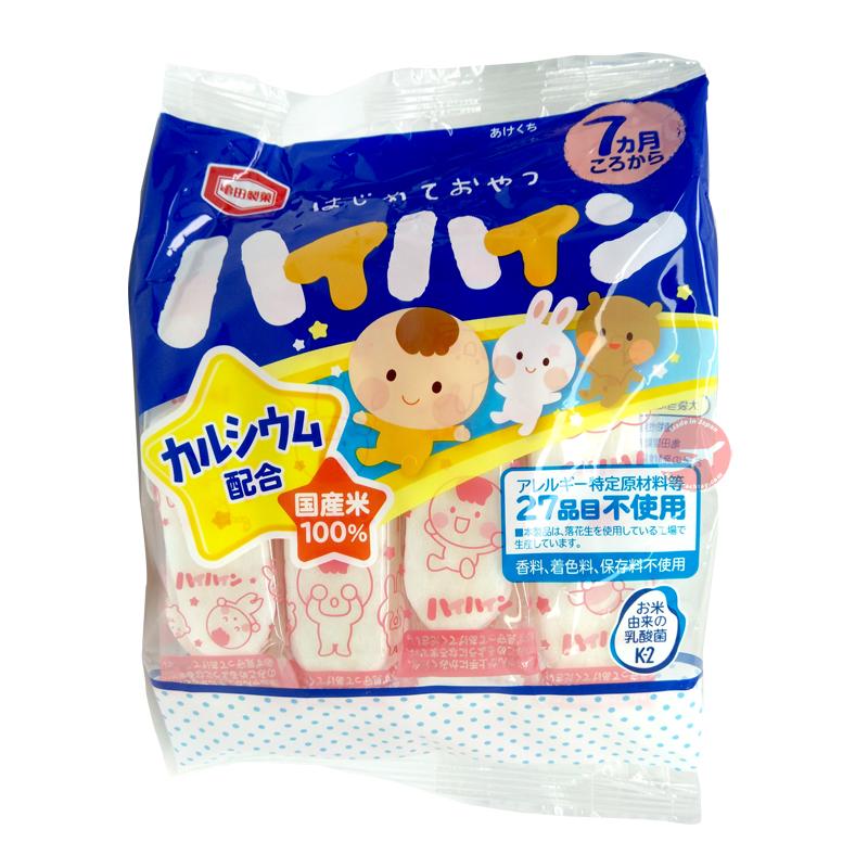 Bánh gạo ăn dặm HaiHain Nhật vị sữa