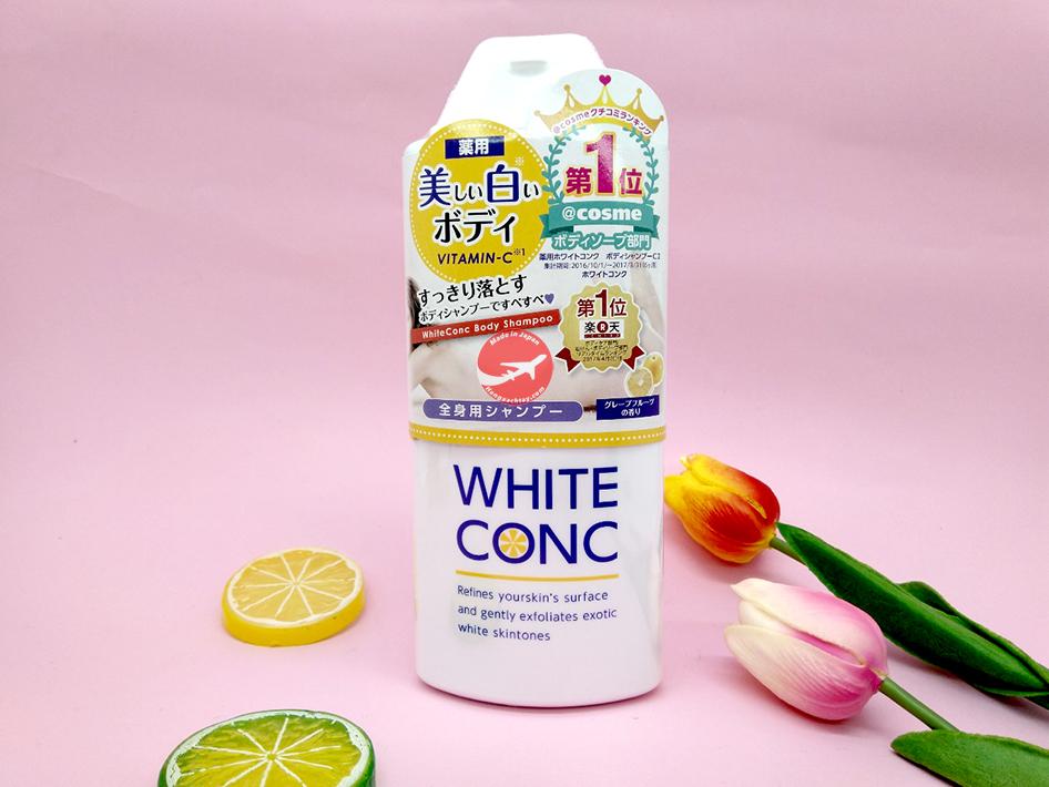Sữa tắm trắng White Conc Body 360ml Nhật Bản