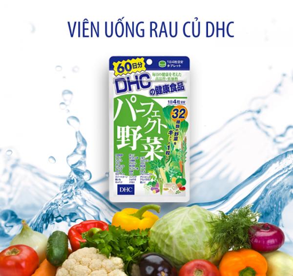 Viên uống rau củ DHC 60 ngày 240 viên
