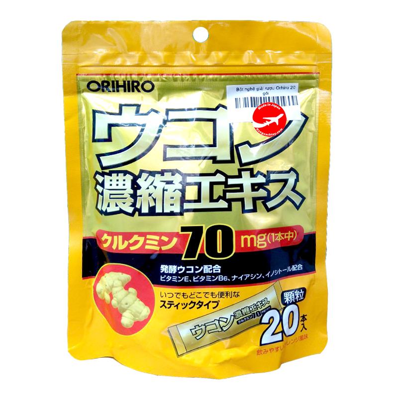 Bột nghệ giải rượu Orihiro