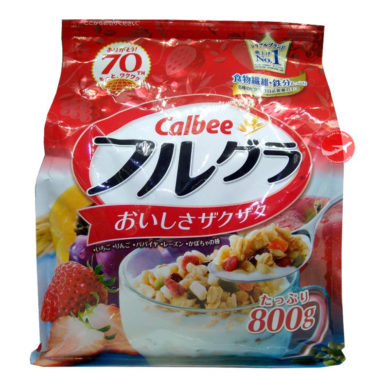Bột ngũ cốc Calbee (800g)