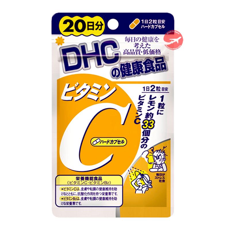 Viên uống DHC bổ sung Vitamin C 40 viên 20 ngày