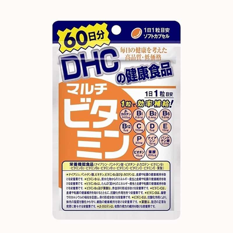 Viên uống Vitamin tổng hợp DHC 60 ngày