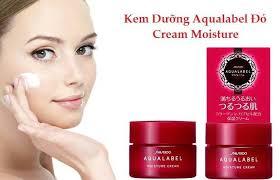 Kem dưỡng da chống lão hoá Shiseido Aqualabel 5 trong 1 Special Gel Cream Oil (Moist)