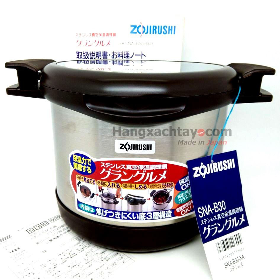 Nồi ủ chân không Zojirushi SNA-B30-XA 3.0L NU- 140105948