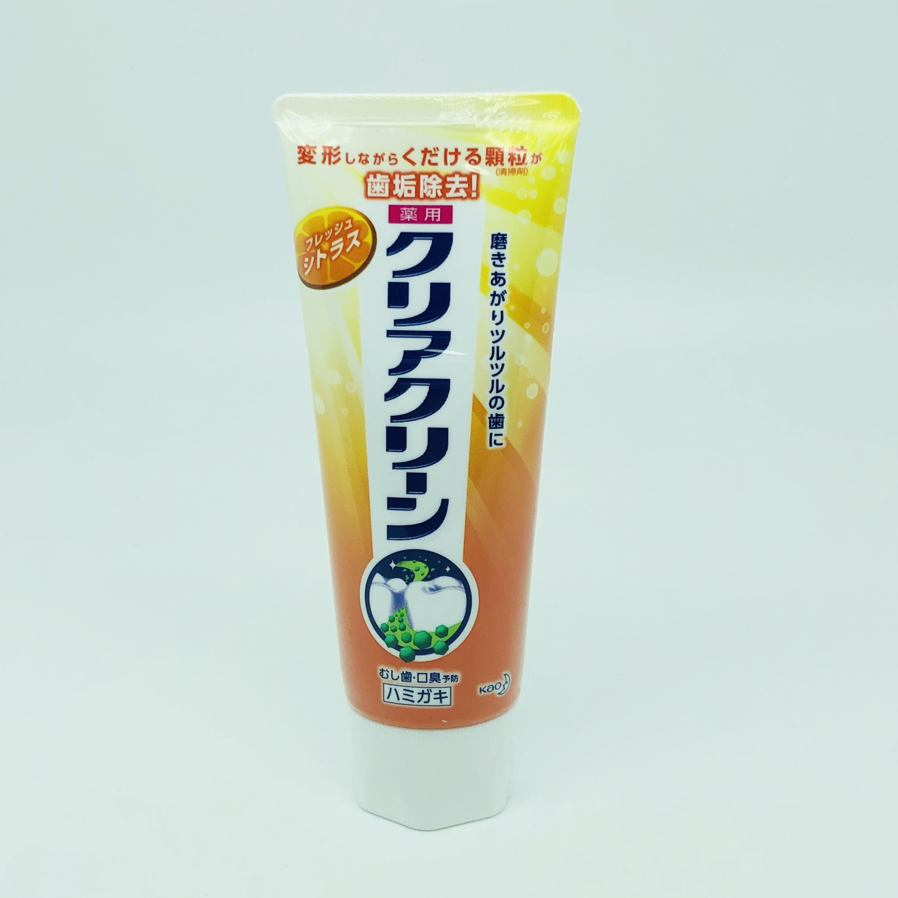 Kem đánh răng KAO Clear Clean hương chanh