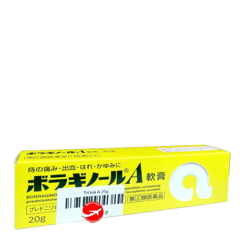 Kem bôi trĩ chữ A Nhật Bản (Tuýp 20g)