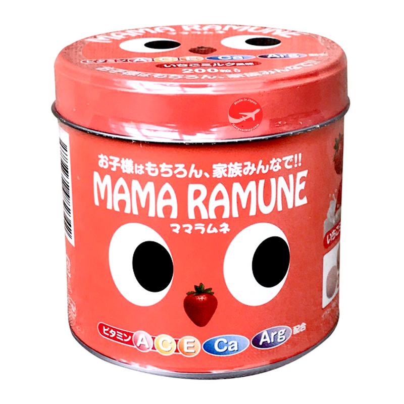Kẹo cho trẻ biếng ăn Mama Ramune