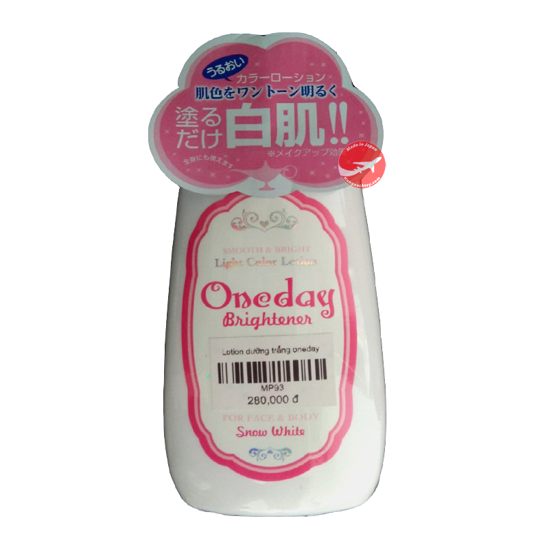 Lotion dưỡng trắng da One Day Brightener