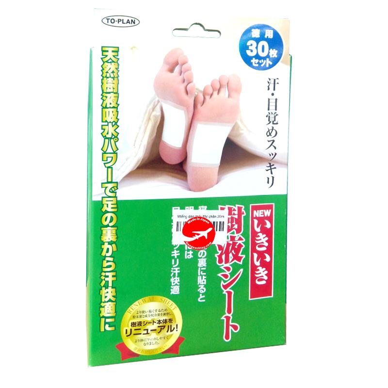 Miếng dán chân khử độc tố Kenko Nhật Bản