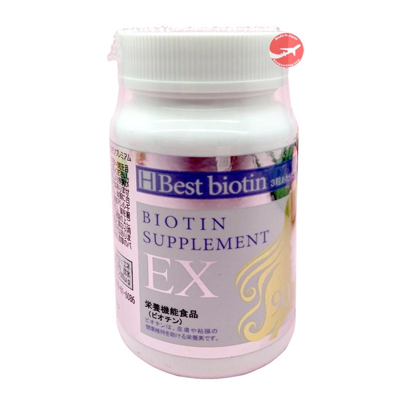 Viên Uống Hỗ Trợ Mọc Tóc Best Biotin Supplement EX